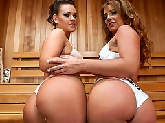 Hottest rectal, all girl porn video with amazing pornstars Savannah Fox and Roxy Raye from Everythingbutt