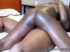 Two black mama frolicking chubby humid pussy