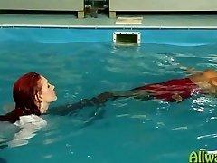 sensuous pool have fun eurobabes