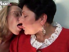 FUN MOVIES Horny Granny Lesbos