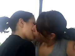 Lesbo teenage kissing homemade (compilation)