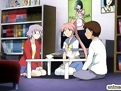 Manga coeds lesbian sex