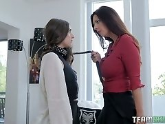 Arielle Faye is a submissive piano student who is worth some scissoring