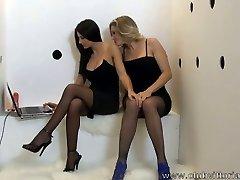 Glory Hole Oral-sex -  Vittoria Risi e Sofia Gucci