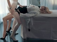 Bree Haze and Merry Pie Have Fun with a Cumming Belt Dick