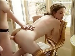 Extraordinaire Homemade pinch with Strapon, Lesbian scenes