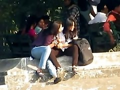 Indian Lesbians Kiss Publicly