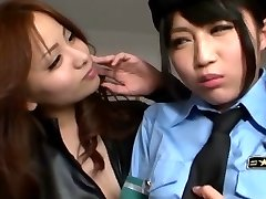 Japanese Lesbo Tempted Officer