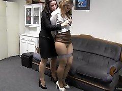 Cutie boss with secretary