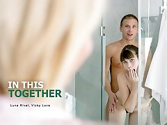 Luna Rival & Vicky Enjoy in In This Together - StepmomLessons