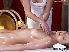 Massage Rooms Redhead lezzy sucks cunt