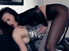Hot lesbs in pantyhose anew in action