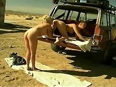 Terri Star Lovees Slurping Moist Pussy Outdoors