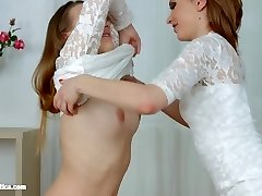 Shy Gf by Sapphic Erotica - Candy Tastey and Olivia
