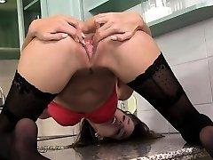 blondie Marika deep pleasing gaping