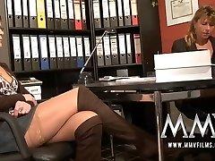 MMV Films Pierced mature wifey gets man meat