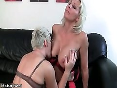 Wild blondie mature housewife part4