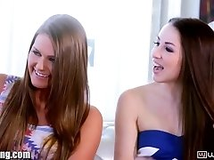 WebYoung Lola Foxx's Lesbian Teenager Four-way