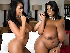 Katt Garcia & Maserati in Large On Bony - Brazzers