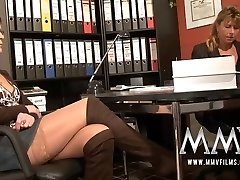 MMV Films Pierced mature wife gets fuckpole