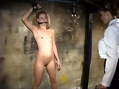 Young Lesbian With Little Titties Loves To Play BDSM