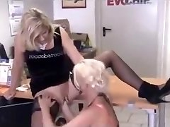 Pierced German COUGAR Whore Fisted - 2 Scenes
