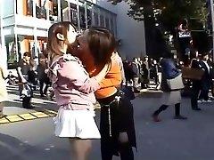 Japanese Highly Public Lesbos