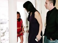 MyBabySittersClub - Baby Sitter Receives A Threesome On The Job