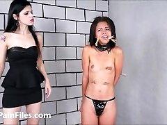 Brazilian gimp Pollys lesbian BONDAGE & DISCIPLINE and elect