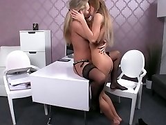hot lesbian fuck-fest at audition