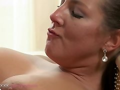 MOM MILF can't get enough of his man-meat