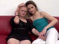 Serbian grannie and teenage (Erzika and Ivana) By KRMANJONAC