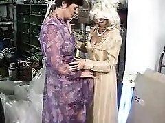 Grandmother girl-on-girl