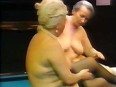 Lesbian grandmas having fun
