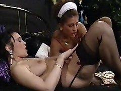 Dobrý Služka splňuje její Paní Lesbické Chutě