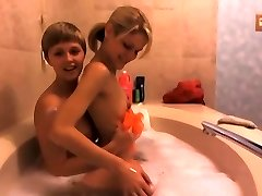 A tale about two lezzies who took a bath PART Two (HD)