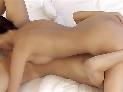 Christy Glamorous and Kitty Jane - cute lesbians sixty-nine