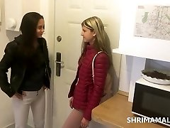 Shrima Malati and Gina Gerson have fuck-a-thon at home