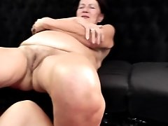 Real granny fucked by two young dolls taboo