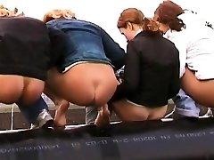 Pissing Lesbian Girls Toilet Video