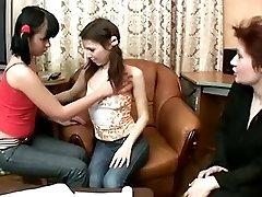 Russian teen lesbians