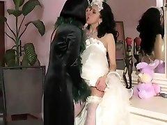 Lesbian mummy in law & hotwife bride