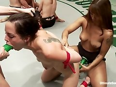 Say It Fucksluts Massive 7 Chick Orgy Fisting, Squirting, Rope-On Sex - Publicdisgrace