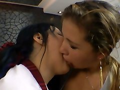 I kissed a Girl! It Was Torrid - Two Kinky Slave Girls