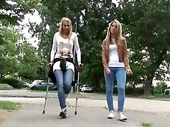 Sprain crutches