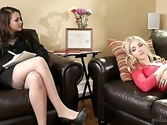 Girlsway Nympho Lesbian Seduces Physician