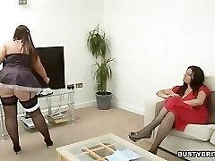 Denise Davies Entices Maid Dani Amour