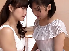 Hottest Japanese whore in Crazy Teens, Cunnilingus JAV scene