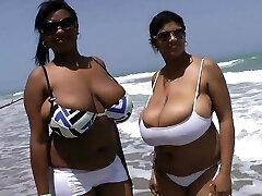 Kristina & Jenny - beach honies