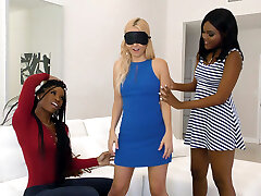 Girl/girl Action with Aaliyah Love, Mya Mays and Yara Skye